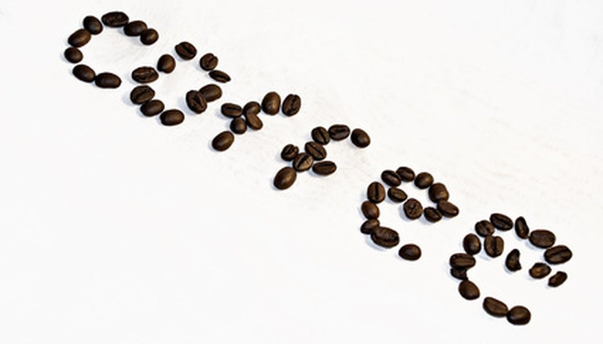 Coffee beans come from trees ranging from 4 to 50 feet tall.