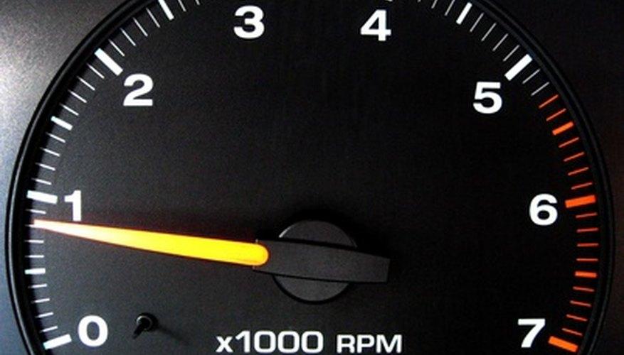 Uno de los ejemplos más comúnes es el RPM en nuestro automóvil.
