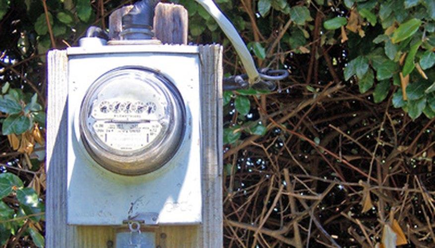 Los medidores de kilovatios hora miden el consumo de energía eléctrica.