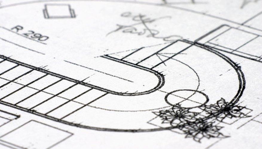 El dibujo técnico es la base de cualquier edificio emblemático, incluso de aquellos muy antiguos.