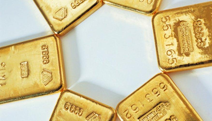Para extraer oro, necesitas una batea para oro y una caja de esclusa.