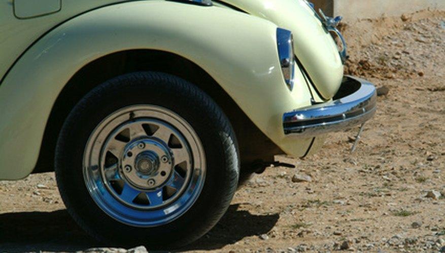 Conseguir una coincidencia exacta de pintura es importante para una restauración de un VW.
