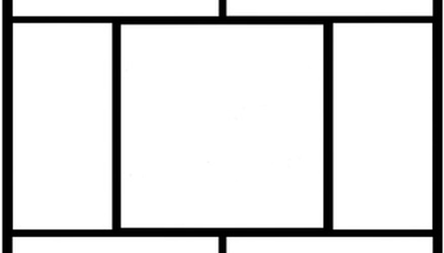The area of a rectangle is equat to its width multiplied by its length.