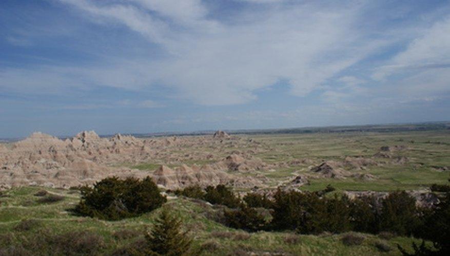 Las planicies de Dakota del Sur ayudan a mantener condiciones de tiempo y clima consistentes.