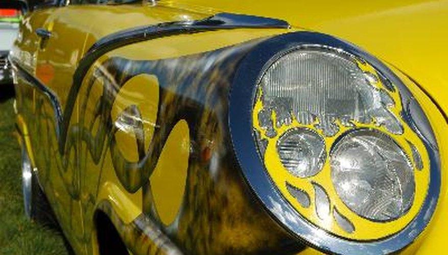 Instala un sistema de suspensión de aire en tu coche.