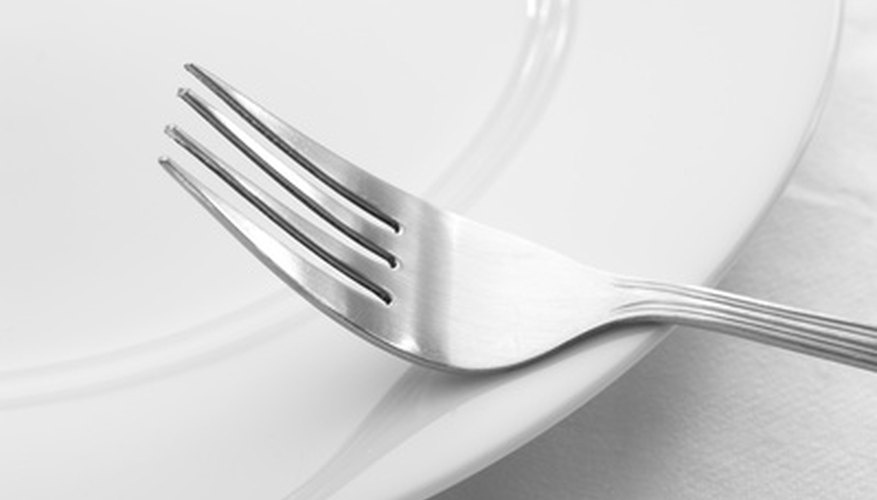 Silverplate is an affordable alternative to sterling silver dinnerware.
