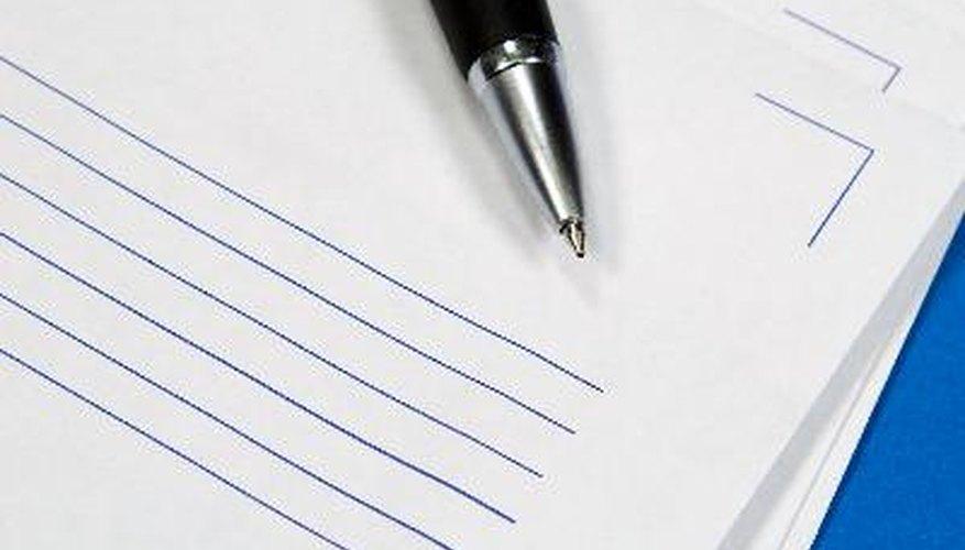La carta con membrete otorga un aspecto más profesional a la correspondencia comercial.