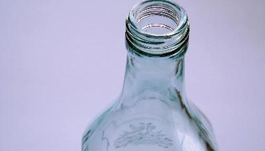 La teoría del cuello de botella debe su nombre a la semejanza con el cuello de una botella por su estrechamiento.