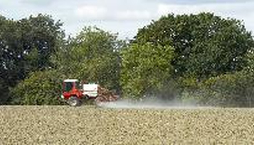 Some forms of ester herbicides cause vapors that drift.