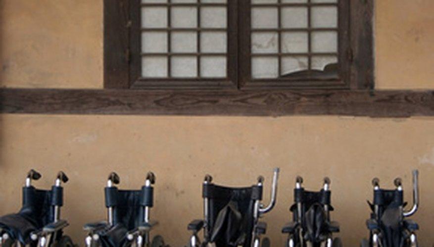 Muchos niños con necesidades especiales utilizan sillas de ruedas.