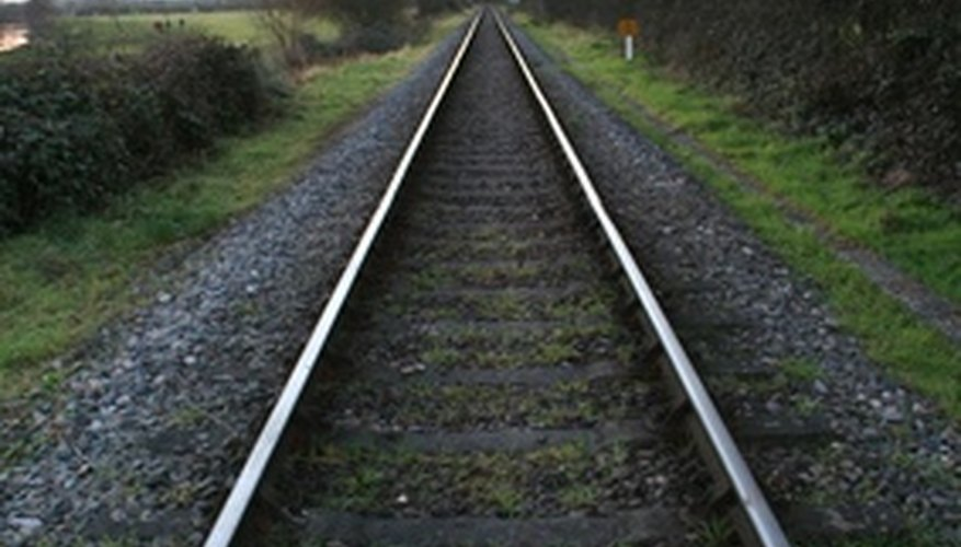 Parallel lines extend to infinity without crossing.