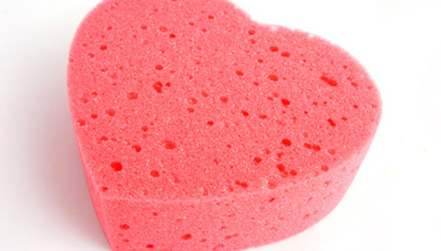 Sponge a stain instead of scrubbing so the stain doesn't spread.