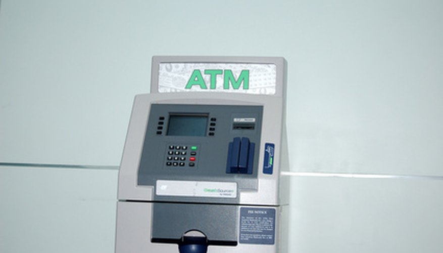 Debit cards allow you to withdraw cash from your bank account at locations nationwide.