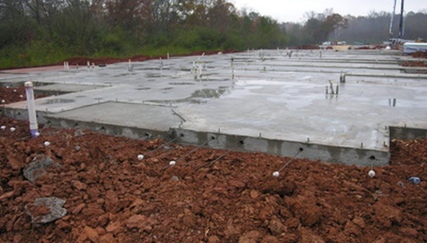 Compacted topsoil can provide a strong building foundation.