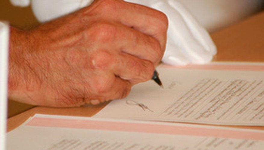 Los documentos pueden ser firmados en cualquier color y aún así ser jurídicamente vinculantes.