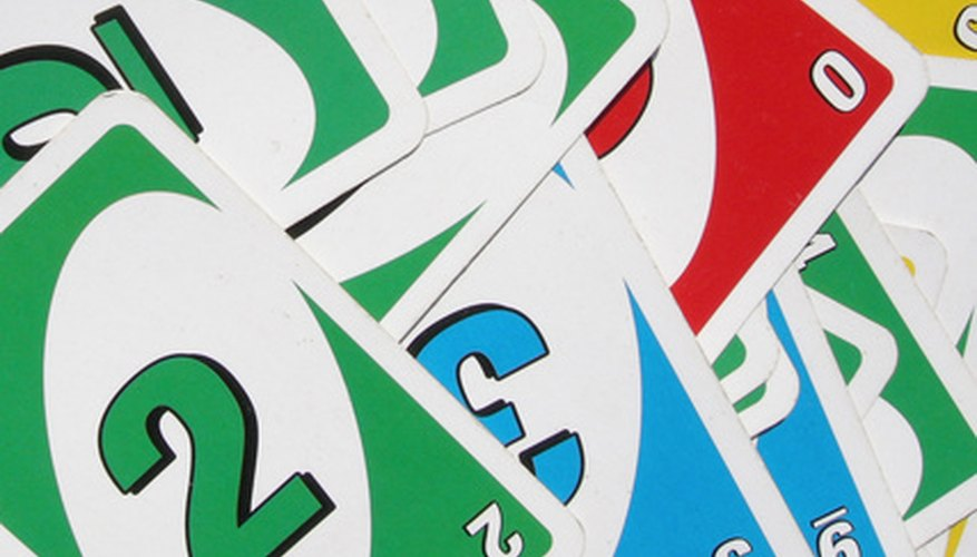 UNO Dice is played with rules similar to the original UNO card game.