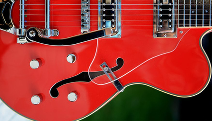 The electric guitar became a staple of American pop music.