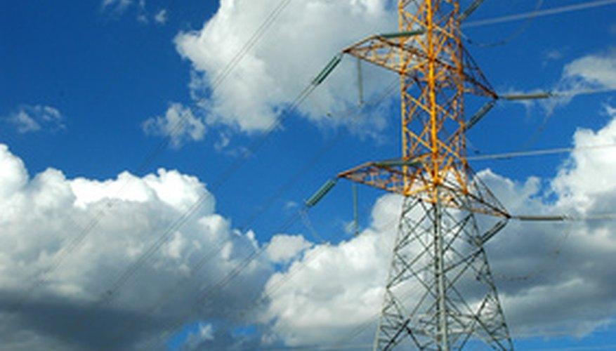 Las plantas de energía nuclear forman parte de la red de energía eléctrica en los Estados Unidos.