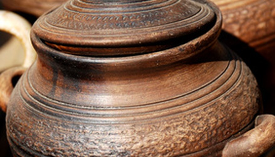 Clay pots were first crafted thousands of years ago.