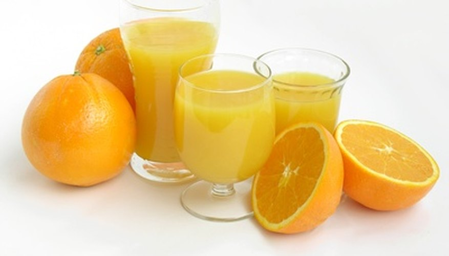 Valencia oranges are widely used in juice production.