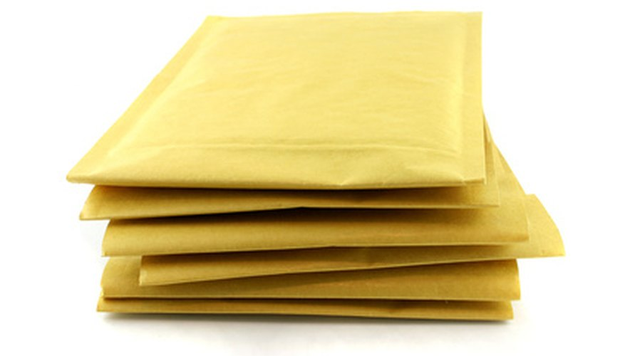Nine- by 12-inch envelopes come in padded and unpadded varieties.