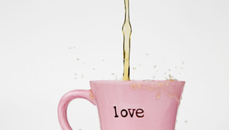 Valentine's Day offers an opportunity to sell associated specialty mugs.