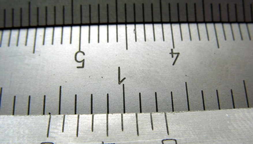 Micrometers can measure very small distances.