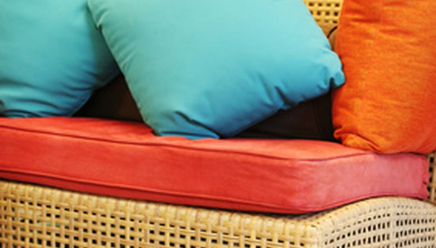 Store cushions properly for winter to keep them in good condition.