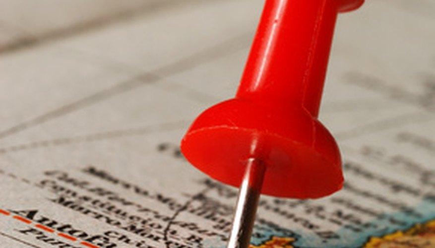 Marcar mapas es un hobby divertido para niños y adultos.