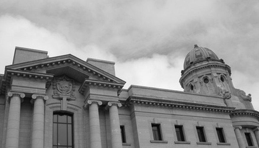 Un tribunal histórico.
