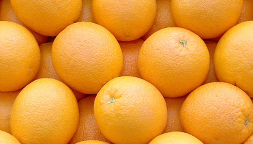 Oranges are the most widely consumed citrus fruits in the world.
