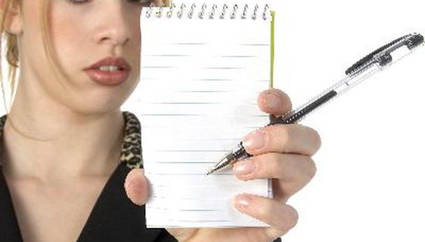 Cómo escribir una oración con una idea principal.