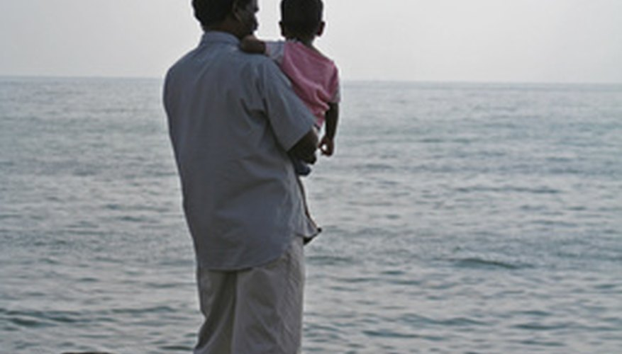 A father figure plays an important role in childhood development.