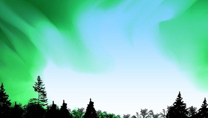 Qué son las auroras boreales.