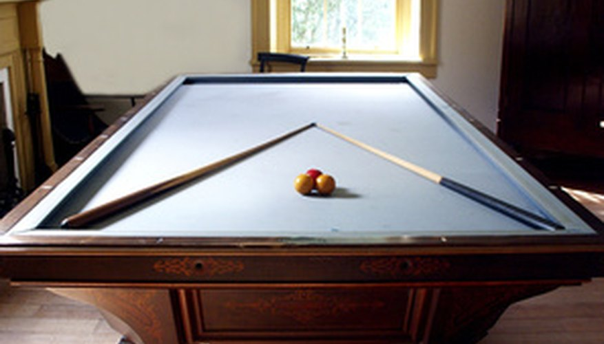 A smooth playing surface is imperative to a great game of pool.