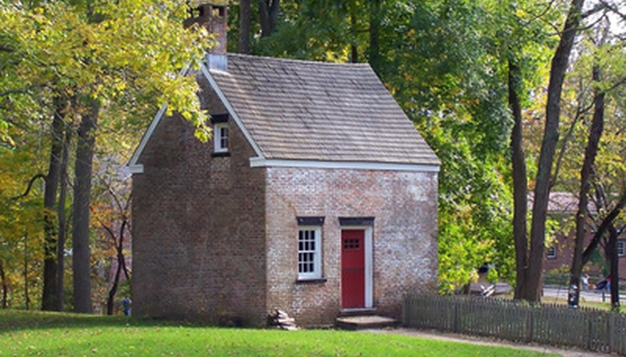 Colonial stone is still used today.