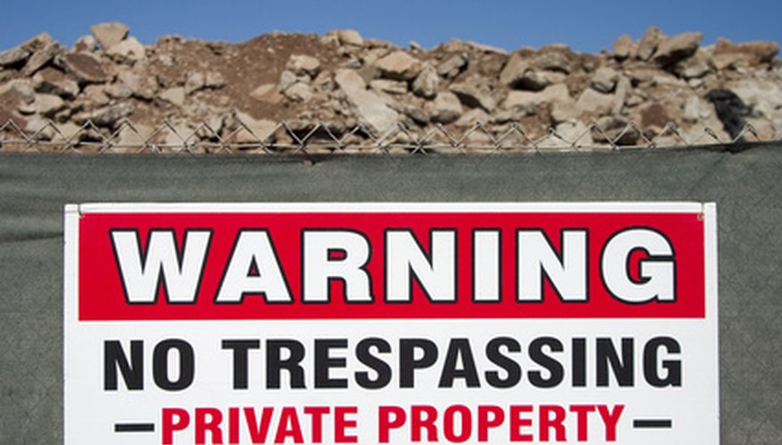 will a no trespassing sign protect you from liabilities pocket sense