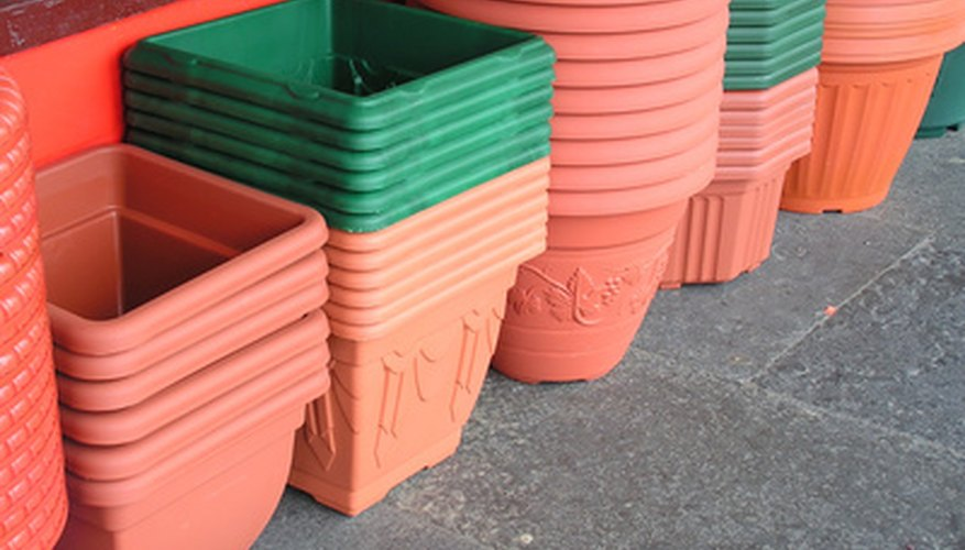 Planter boxes you could use to grow vegetables in.
