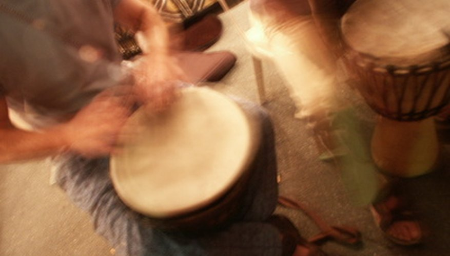 What could be more fun than playing your own handmade wooden drum?