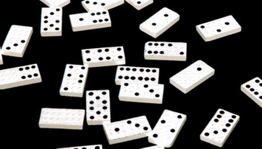 Reglas para jugar al dominó tren mexicano.