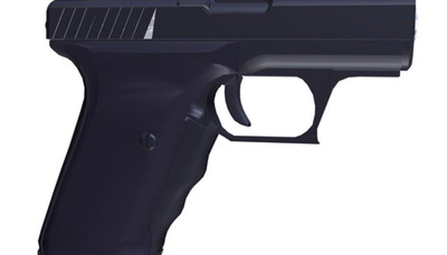 Las pistolas son sólo unas de las armas disponibles en Counter Strike: Source.