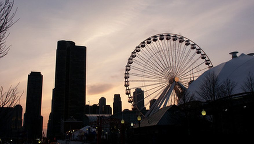 Chicago's Navy Pier Ferris wheel