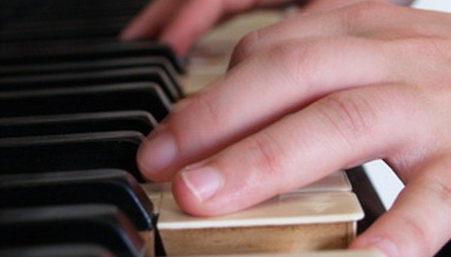 Prueba los rangos vocales con el piano.