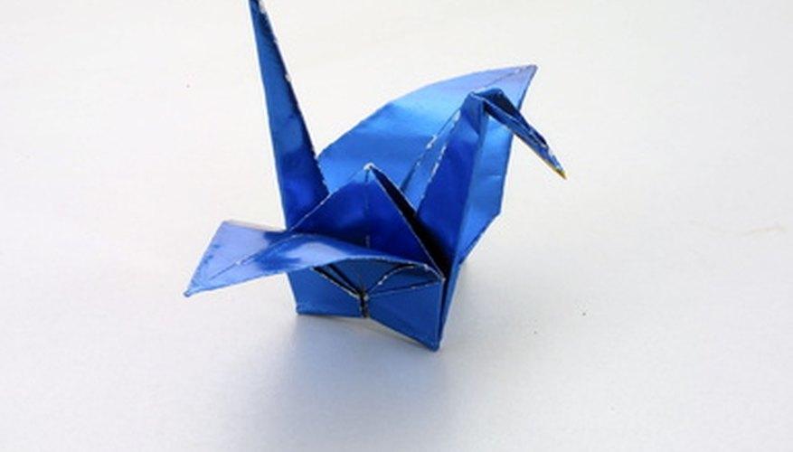 Pasos Para Hacer Una Grulla En Papel Origami Geniolandia