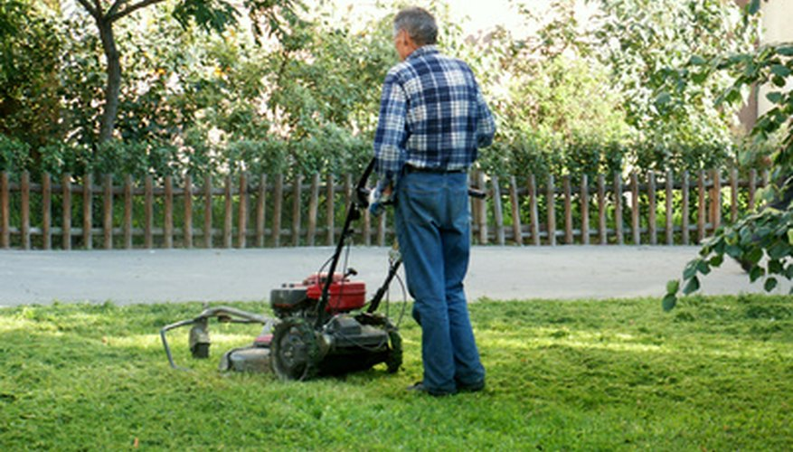 Keep your lawn mower in good running order.