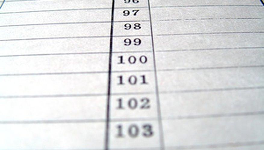 Usa un libro de contabilidad para registrar las entradas diarias de dividendos.