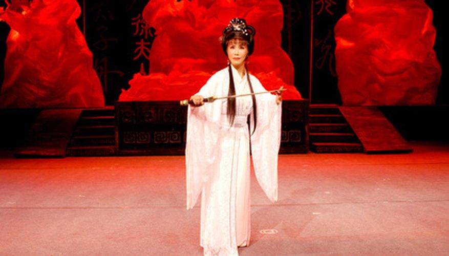 La comunicación teatral no verbal se manifiesta en los trajes, escenografía y la iluminación, así como la fisicalización del personaje.