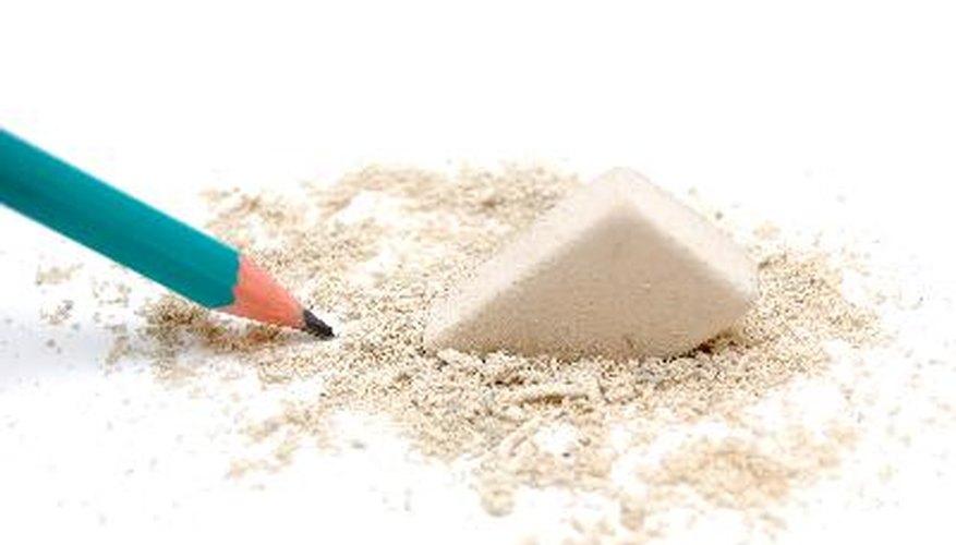 Desde el momento en que tenemos la edad suficiente para hacer las marcas de lápiz sobre papel, los seres humanos nos hemos dado cuenta de la necesidad de gomas de borrar.
