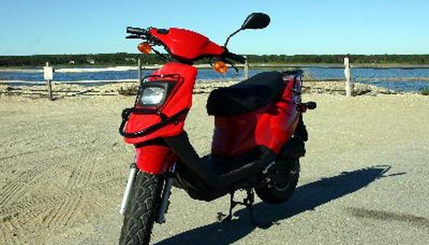 Motocicleta con encendido electrónico.