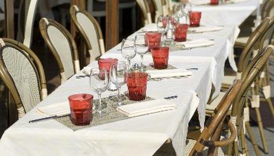 Los costos en un restaurante suelen ser parecidos a las ganancias.
